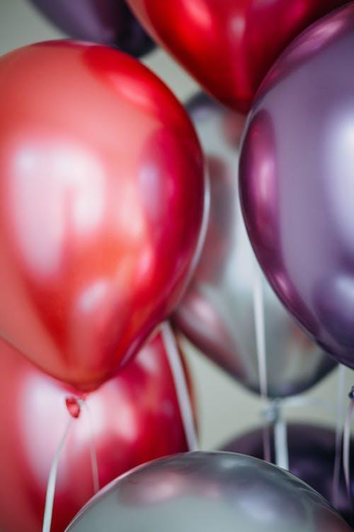 блестящий, воздушные шары, красивый