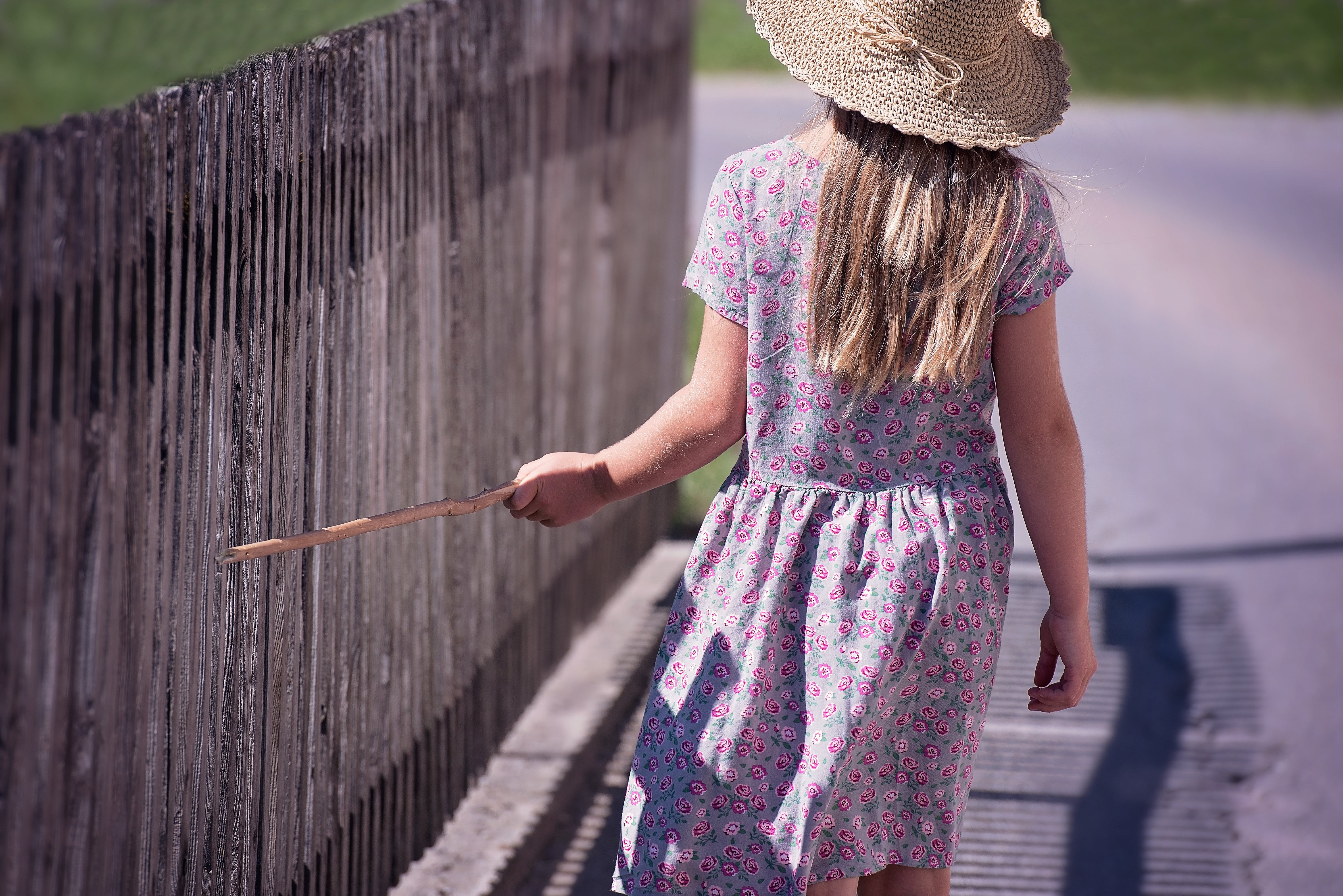 Free stock photo of person, summer, girl, hat