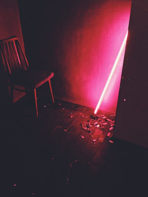 Photo of Red Neon Light