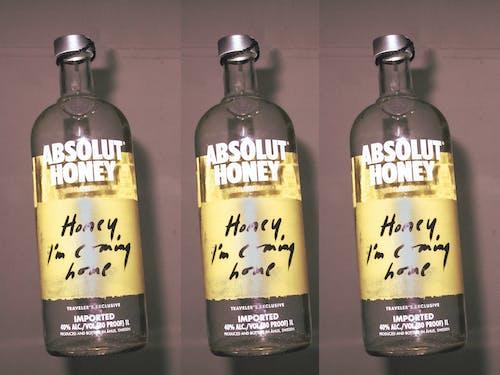Foto stok gratis abstrak, alkohol, botol alkohol, mencetak