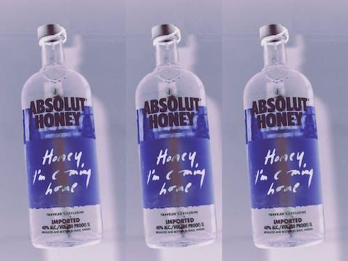 Foto stok gratis abstrak, alkohol, biru, botol alkohol