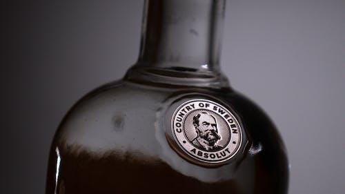 Foto stok gratis abstrak, alkohol, botol alkohol, Vodka
