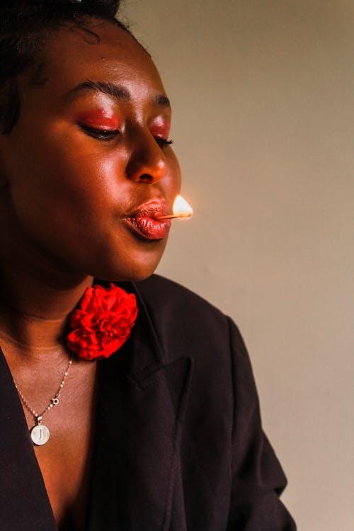 Δωρεάν στοκ φωτογραφιών με portraitswithapop, Αφρικανή, αφρικανή γυναίκα, αφρικανικός