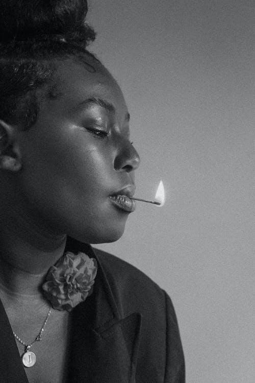 Δωρεάν στοκ φωτογραφιών με portraitswithapop, ασπρόμαυρο, αφρικανικός, Αφρικανός