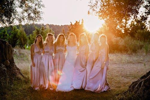 Gratis arkivbilde med bhfyp, bridestory, brud, brudgom