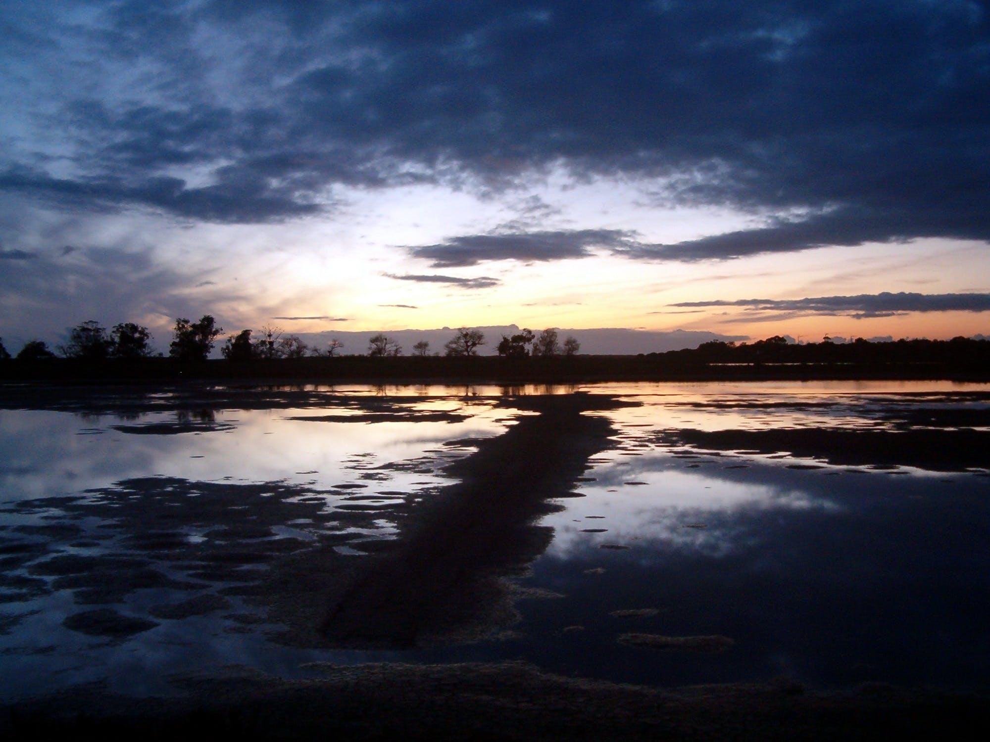 Kostenloses Stock Foto zu himmel, landsape, natur, sonnenuntergang