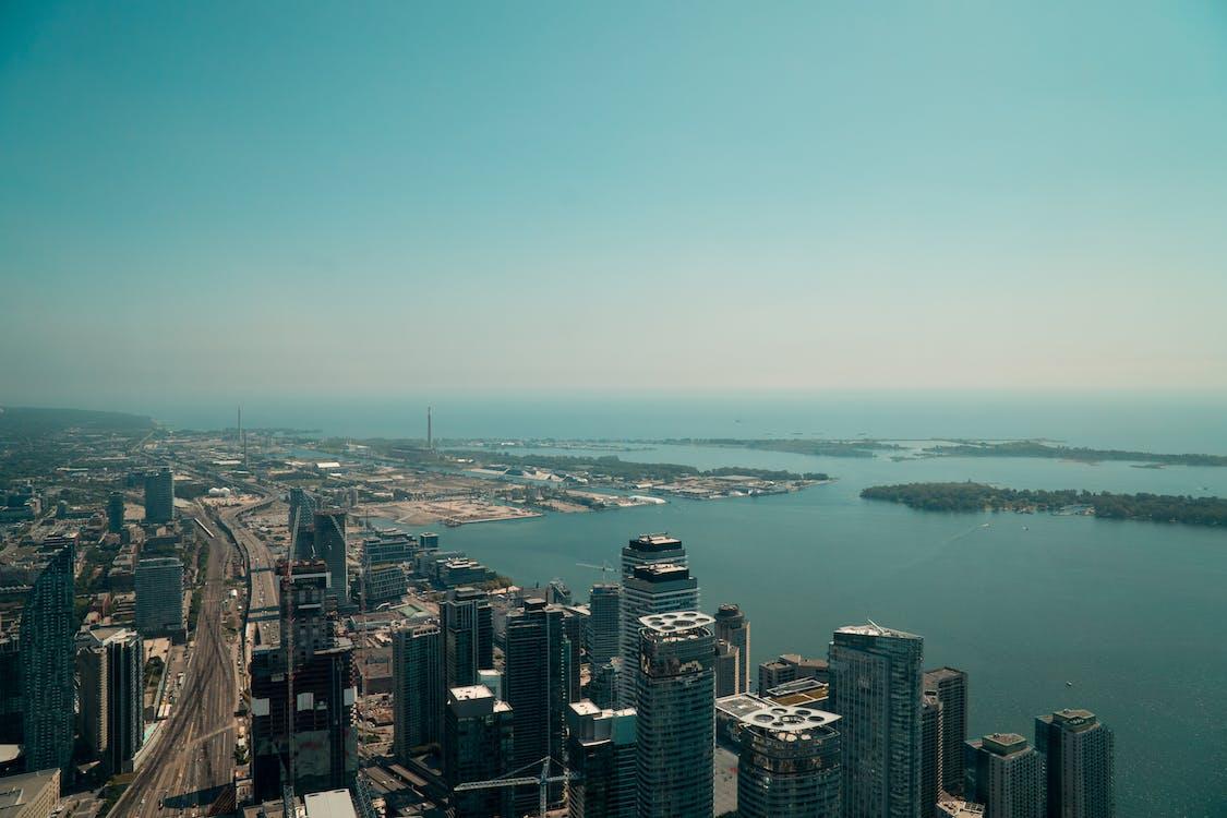 Foto stok gratis kota, langit kota, pusat kota toronto