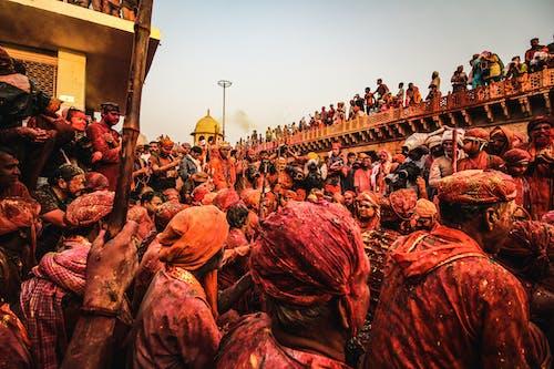 Imagine de stoc gratuită din aglomerație, colorat, concert, culori