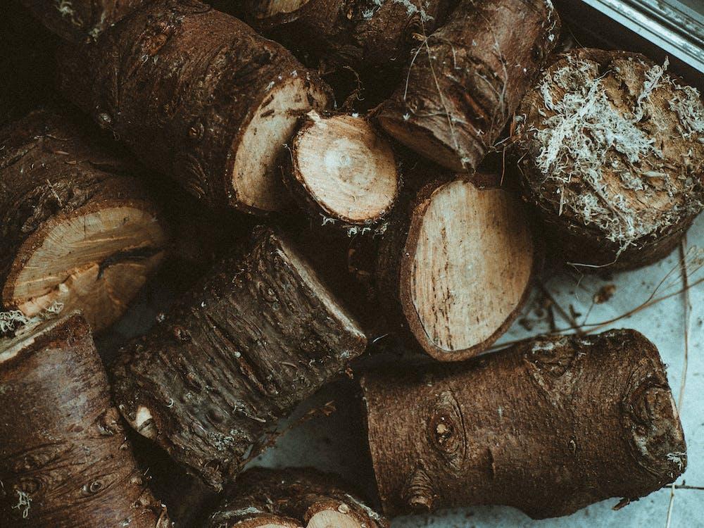 Gratis stockfoto met brandhout, bruin, bruine achtergrond
