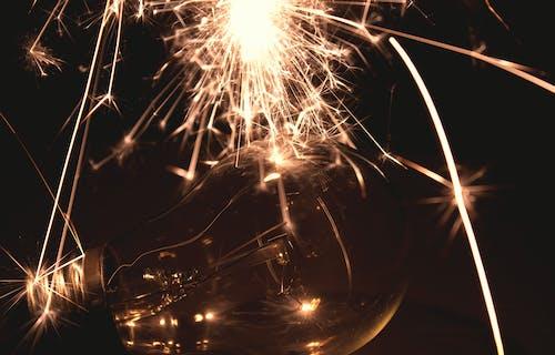 Бесплатное стоковое фото с бенгальский огонь, лампа