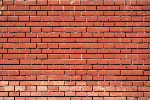 Orange Brickwall