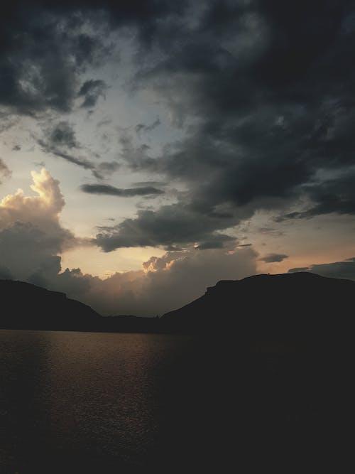 Foto d'estoc gratuïta de Adobe Photoshop, bell cel, cel blau, cel ennuvolat