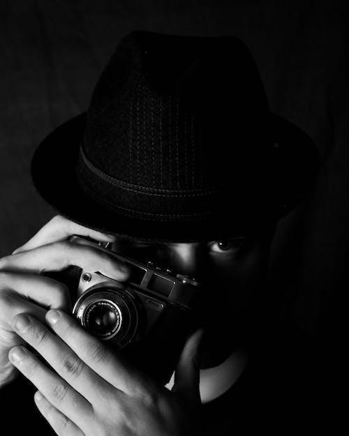 Foto profissional grátis de aparelho, aparelhos, câmera, câmera digital