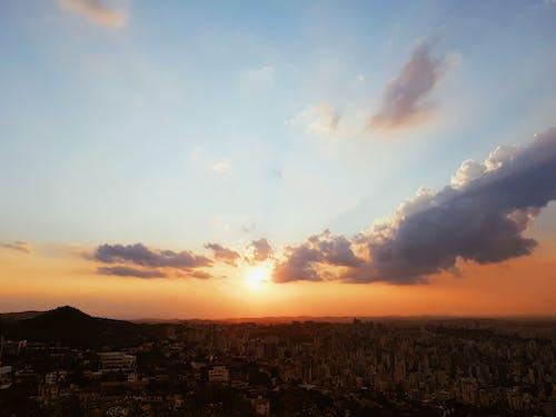 Vista Aerea Della Città