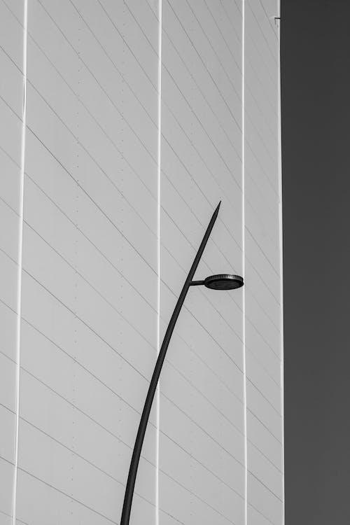 Black Outdoor Lamp Near Building