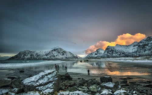 Kostnadsfri bild av 4k tapeter, bergen, bergskedja, clouds