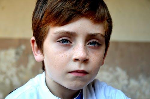 Fotos de stock gratuitas de adorable, chaval, expresión facial, infancia