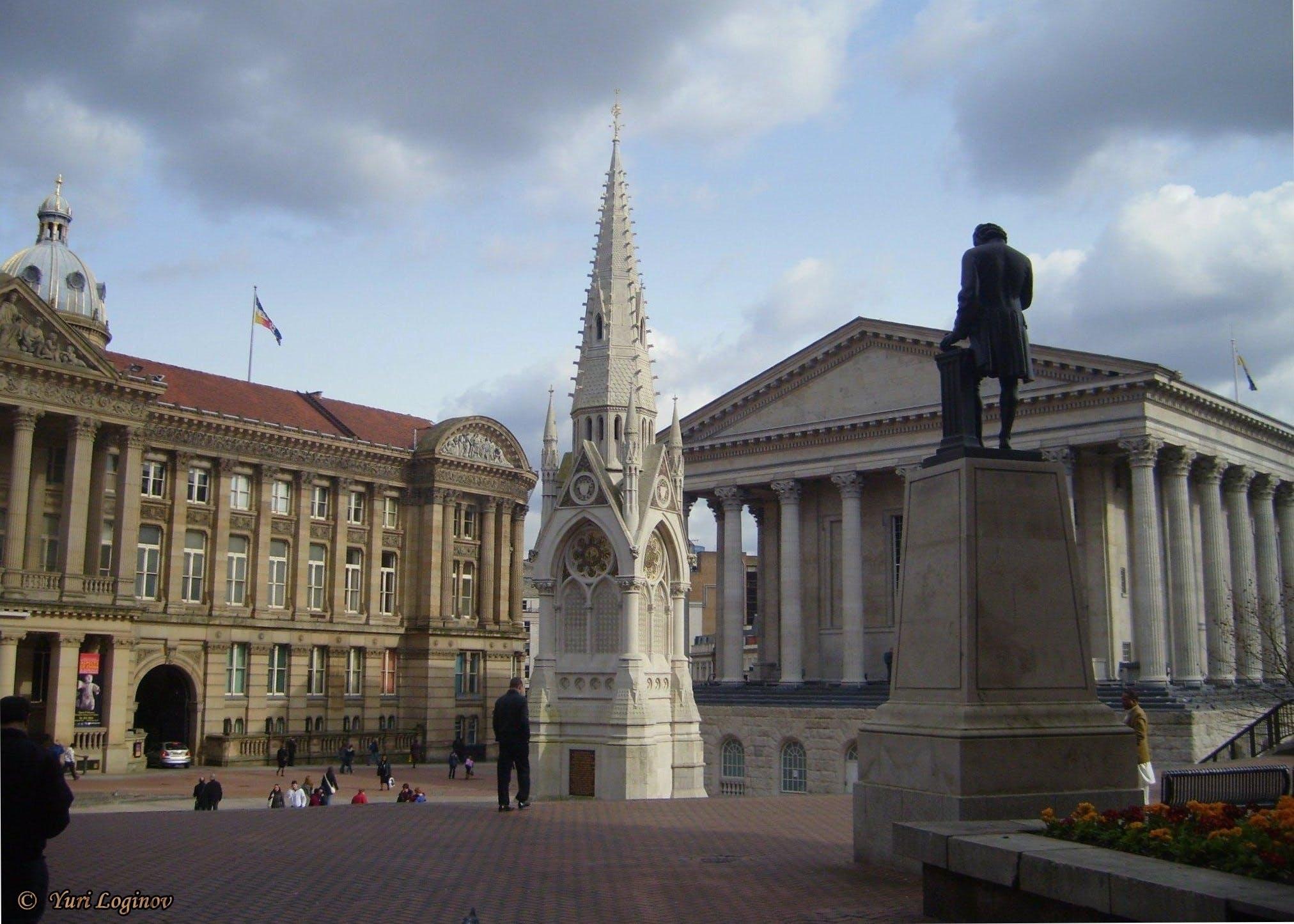 Free stock photo of england, united kingdom, birmingham, Chamberlain Square