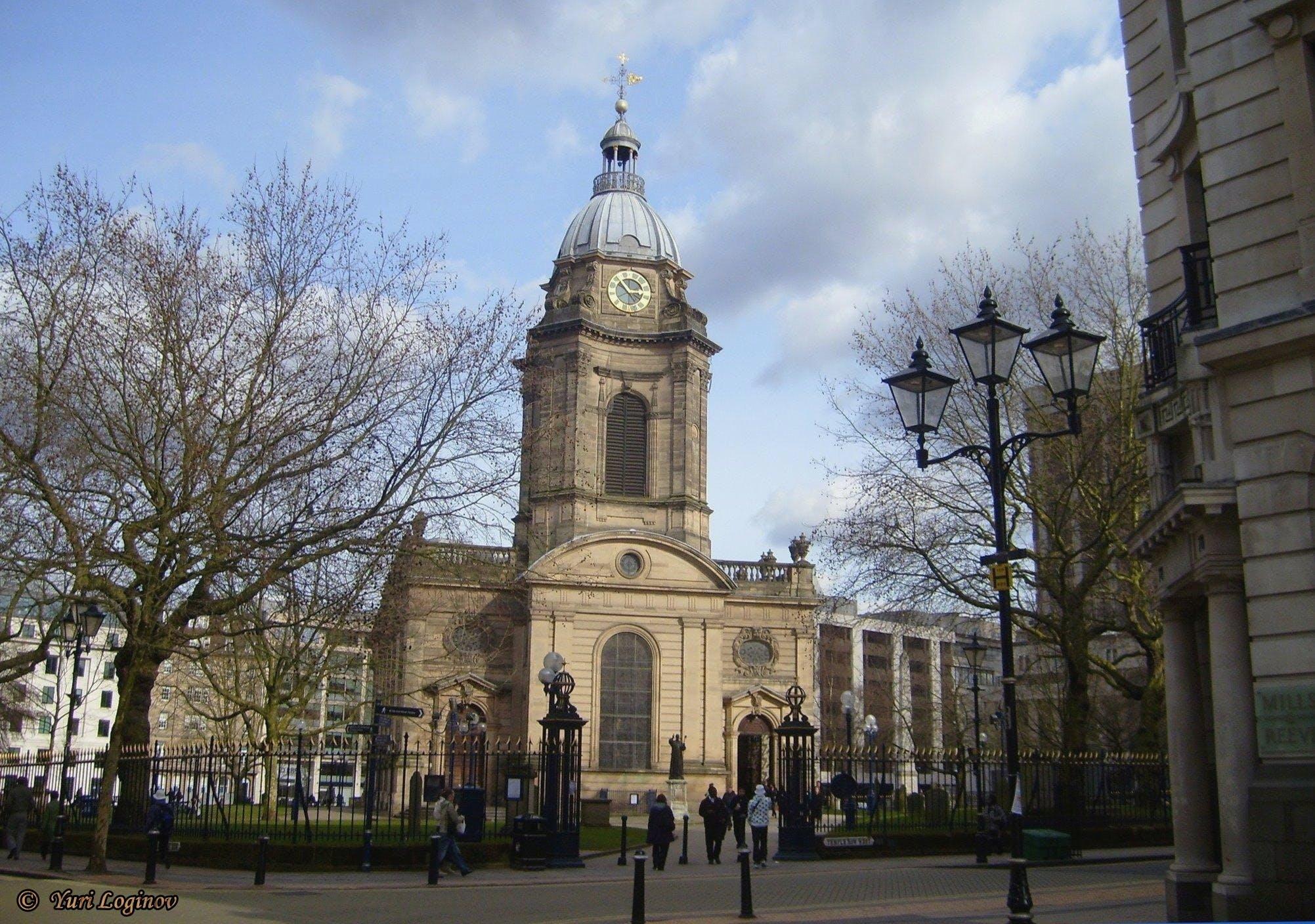 Free stock photo of birmingham, england, Saint Philips Cathedral, united kingdom