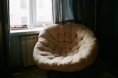 Tufted Brown Padded Chair