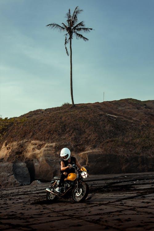 Fotos de stock gratuitas de acción, al aire libre, arena, camino de tierra