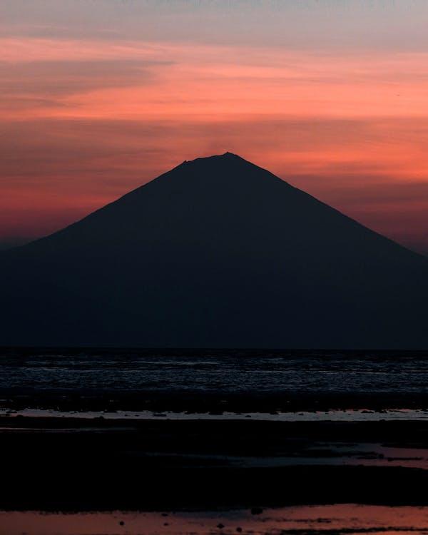 Ingyenes stockfotó aktív vulkán, bali, ég témában
