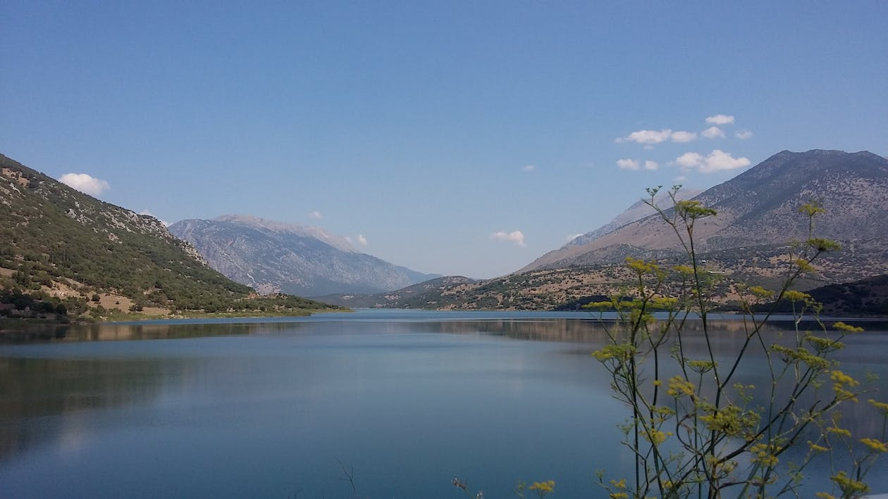 Free stock photo of greece, mornos lake