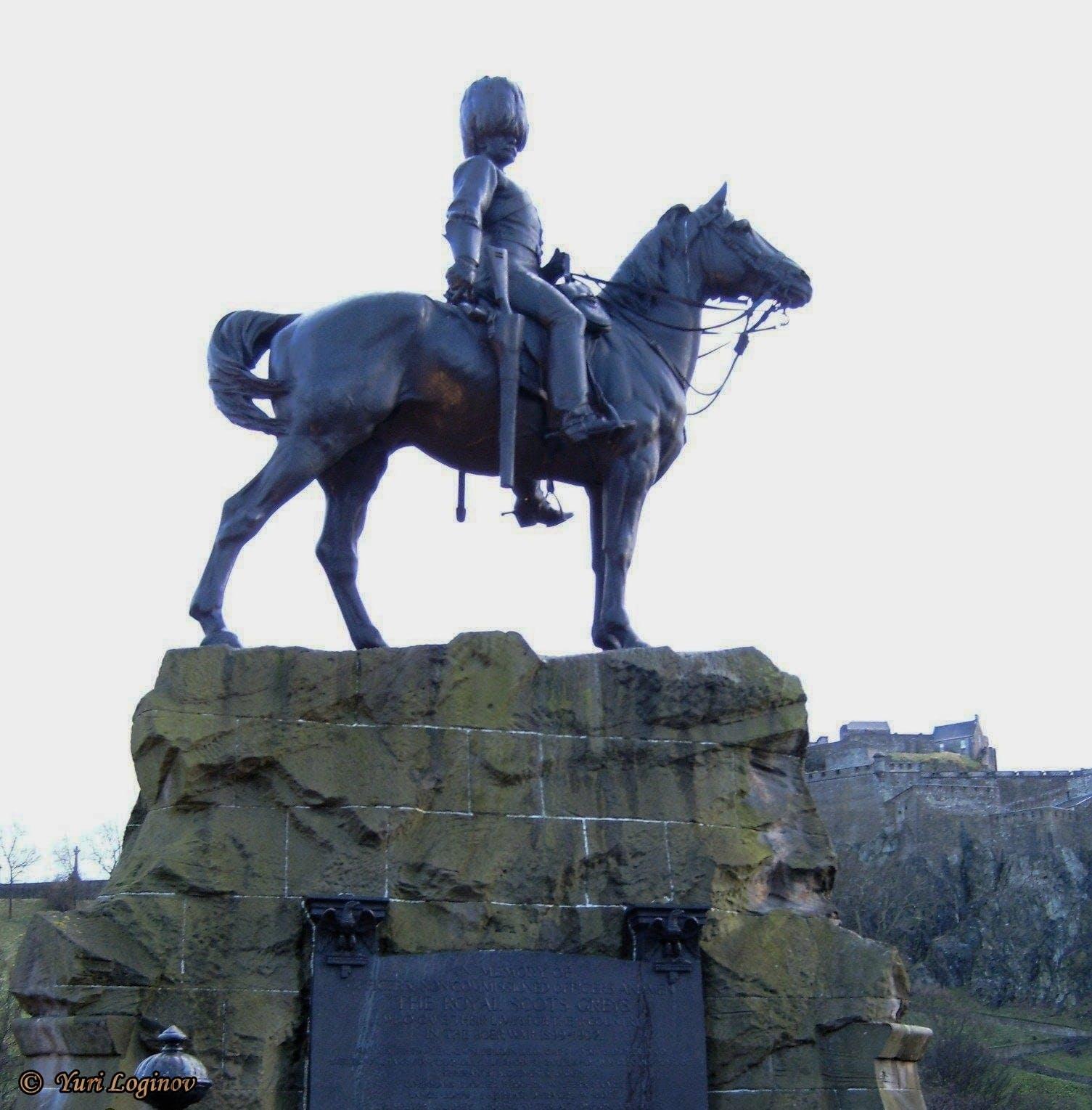 Free stock photo of scotland, edinburgh, united kingdom, The Royal Scots Greys monument