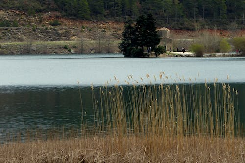 Free stock photo of feneos, greece, lake doxa