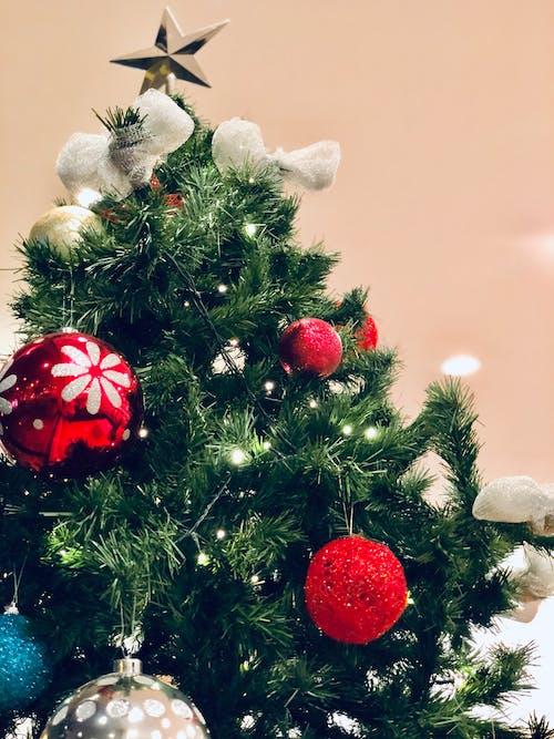 Foto profissional grátis de árvore de Natal, contagem regressiva, luzes brilhantes, magia