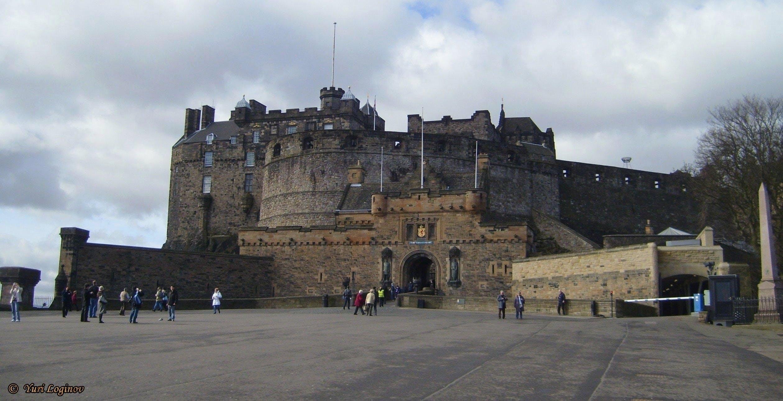 Free stock photo of scotland, united kingdom, Edinburgh Castle, Grampian Mountains