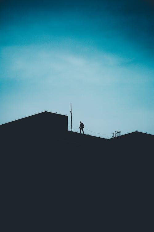 Fotografía De Silueta De Persona