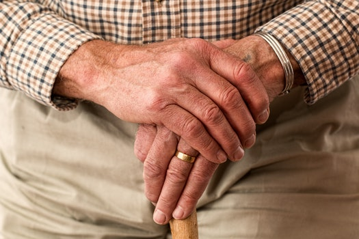 Free stock photo of man, hands, waiting, senior
