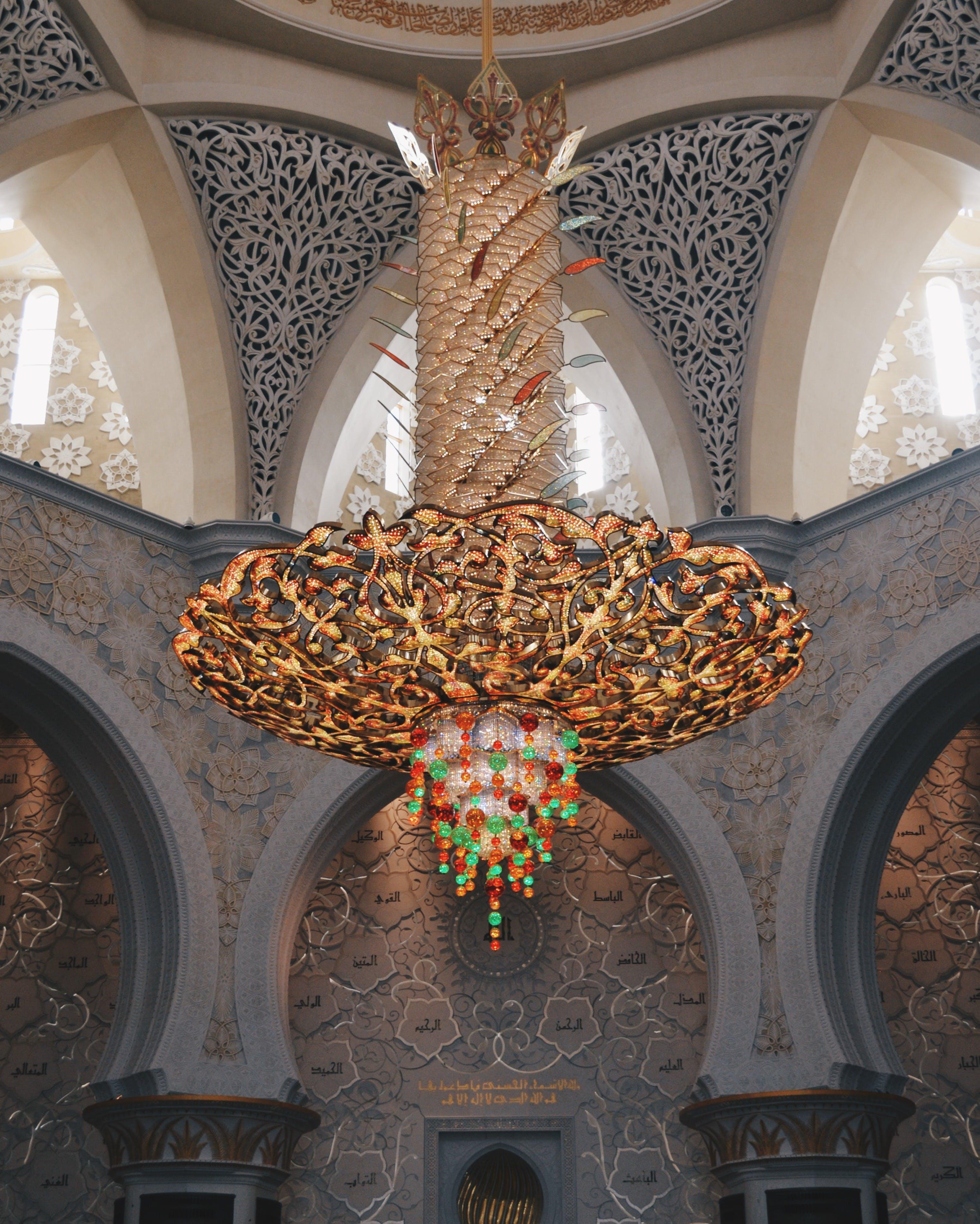 Free stock photo of mosque, uae, abu-dhabi
