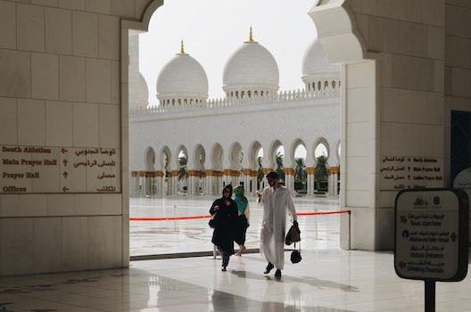 Free stock photo of people, mosque, arab, arabian