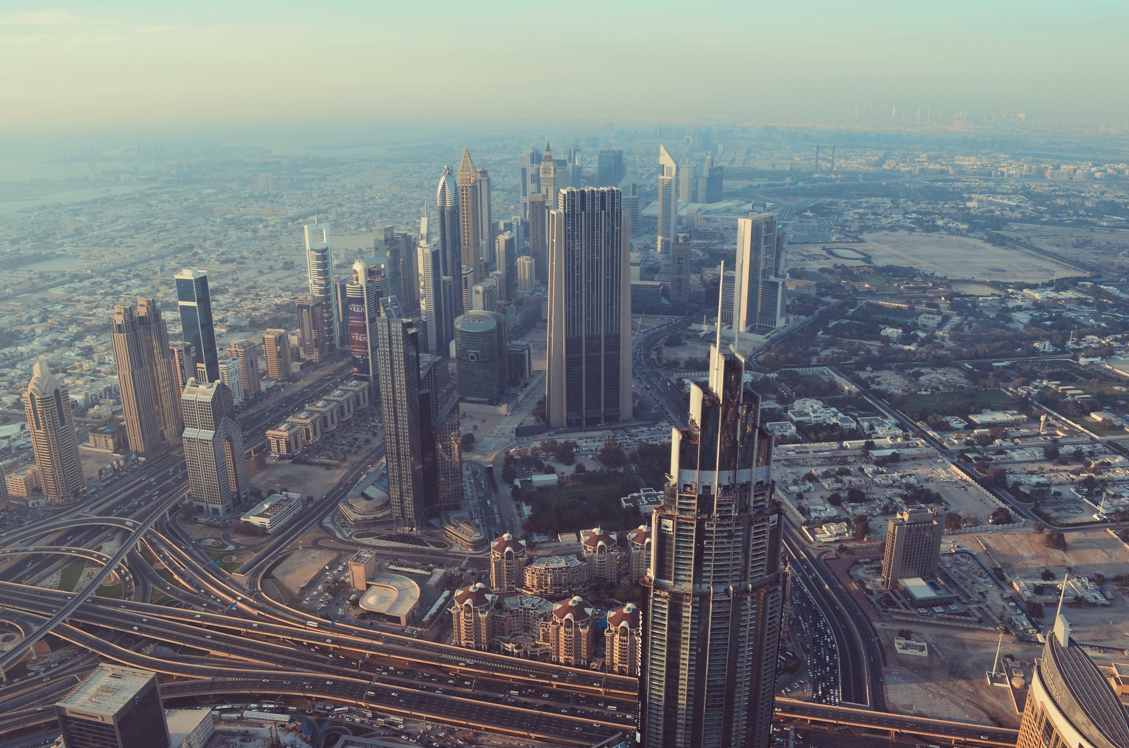 Δωρεάν στοκ φωτογραφιών με burj khalifa, dubai, ουρανοξύστης, πόλη