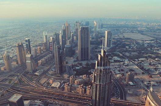 Free stock photo of city, view, skyscraper, dubai