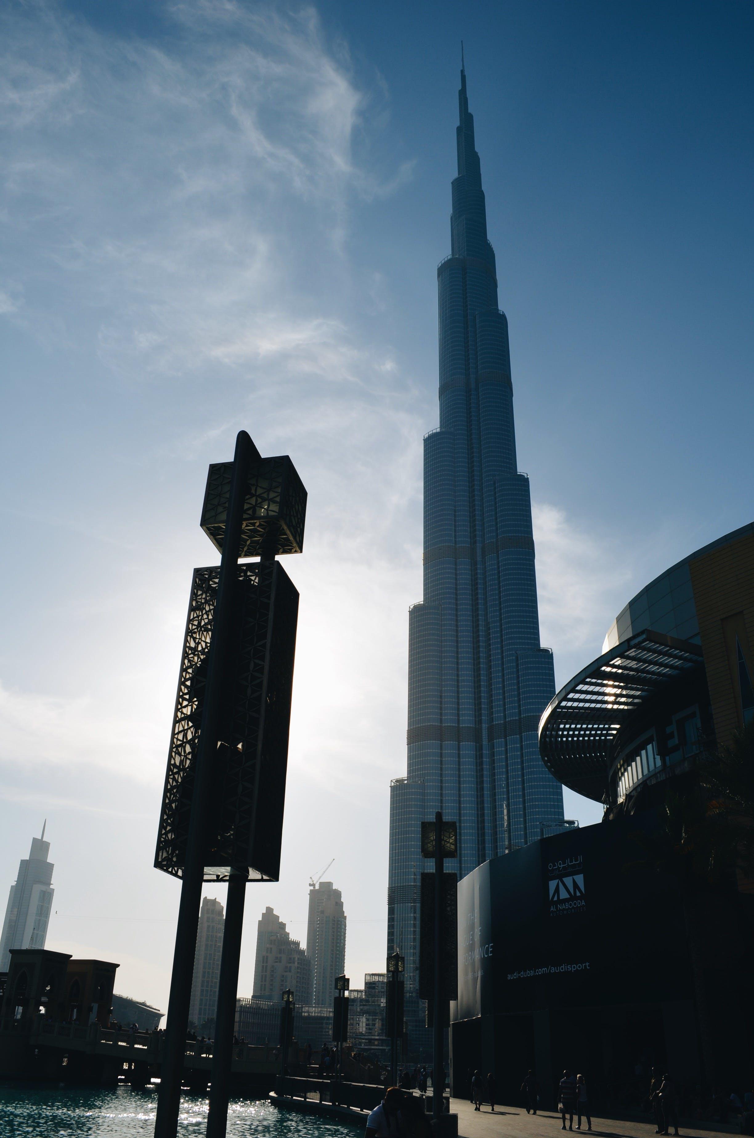 Free stock photo of city, skyscraper, dubai, burj khalifa