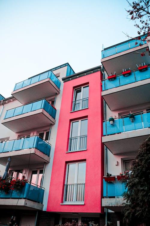 Immagine gratuita di architettura, avventura, azzurro, balcone