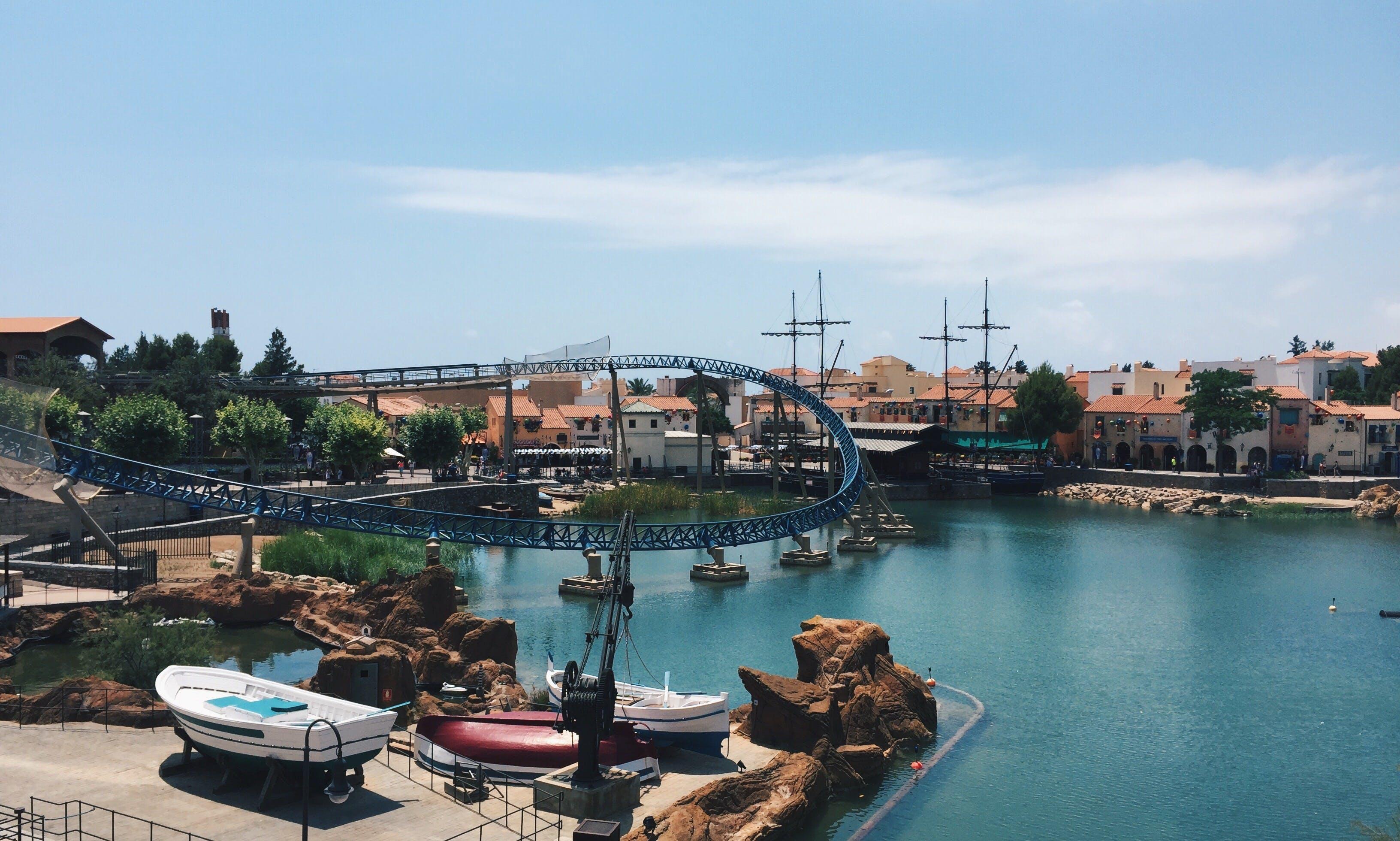 Kostenloses Stock Foto zu abenteuer, pool, port aventura, abenteuer park