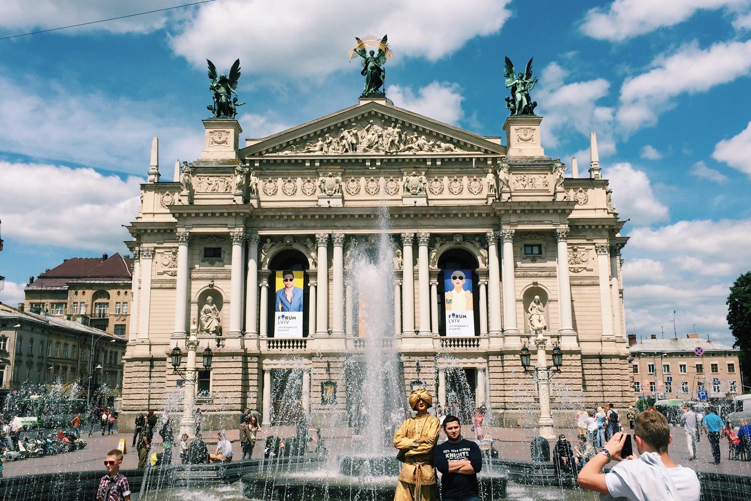 Free stock photo of city, opera, opera house, ukraine