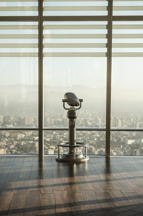 Základová fotografie zdarma na téma architektura, dalekohled na mince, denní, město