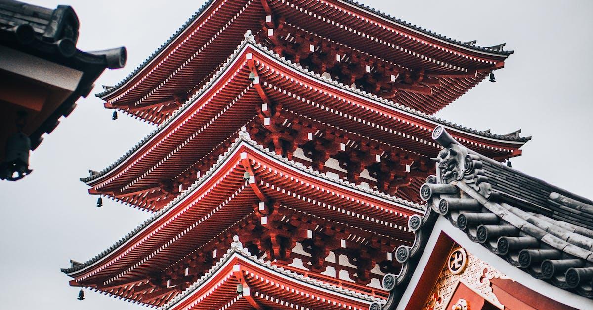 Пагоды японии фото