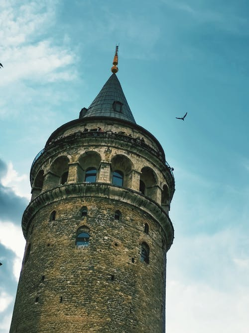 Free stock photo of galata tower, historic building, museum