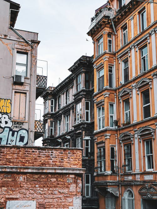 Free stock photo of galata, old buildings, old city