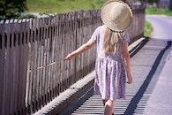 person, walking, summer