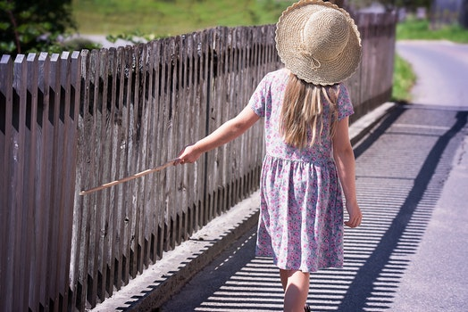 Free stock photo of person, walking, summer, girl