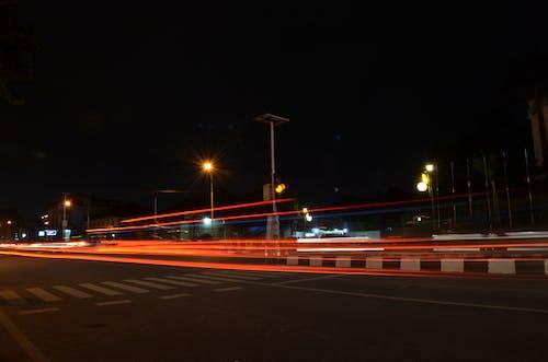 Безкоштовне стокове фото на тему «Nikon, вогні міста, світлові смуги»