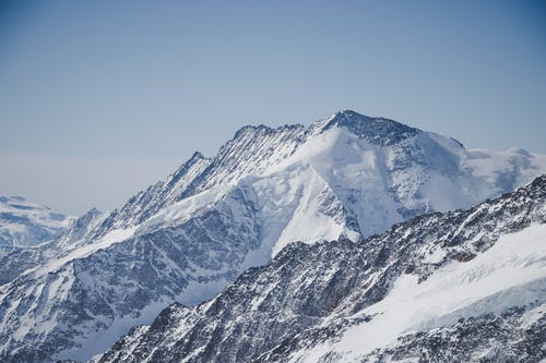 Fotografi Udara Pegunungan Alpen