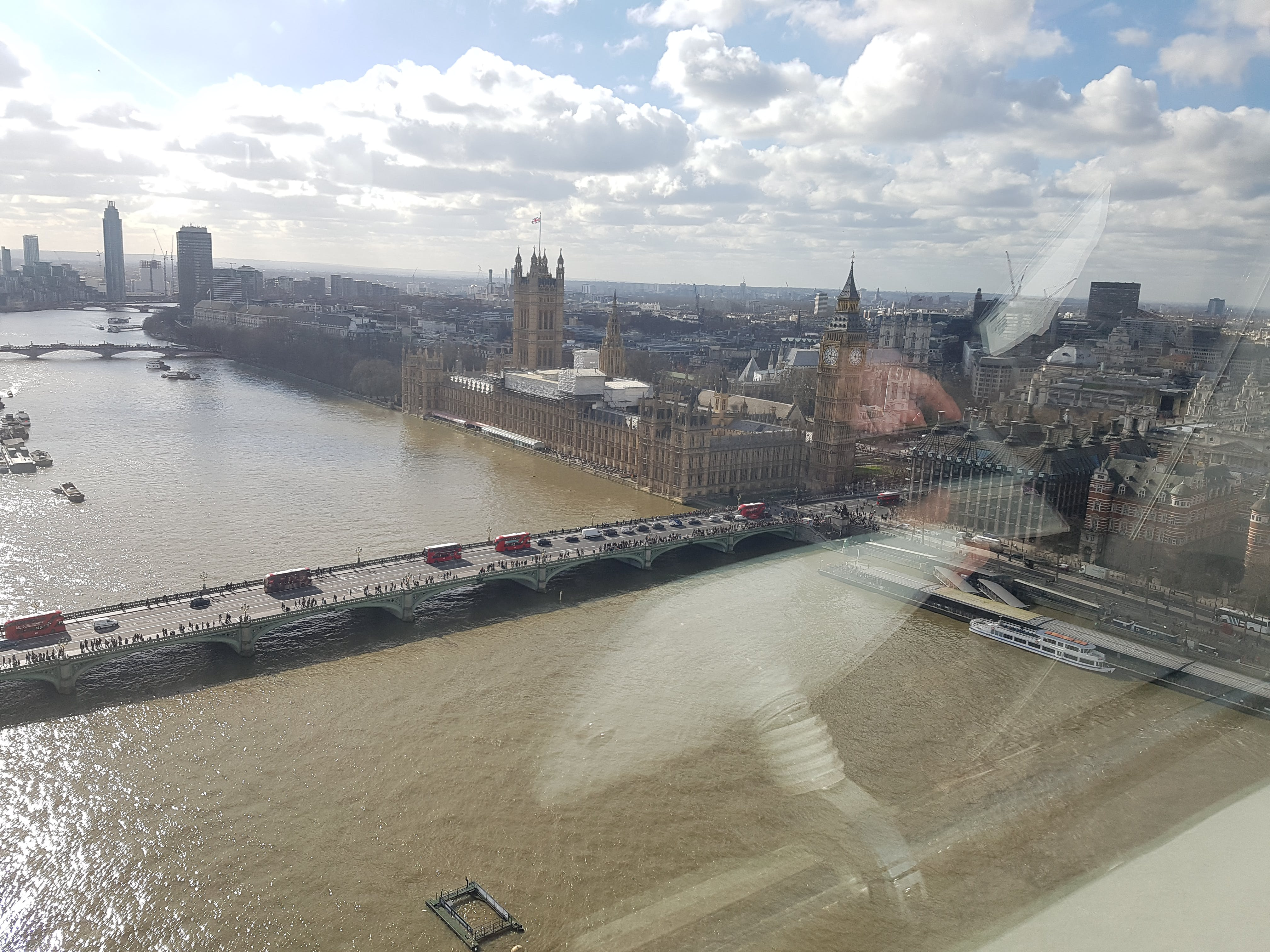 Free stock photo of London View from the Eye